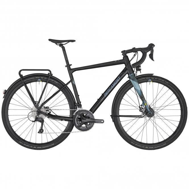 Vélo gravel BERGAMONT GRANDURANCE RD 5 ALU 2020 all road route endurance